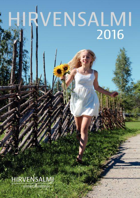 Hirvensalmi 2016 -matkailulehden kansi