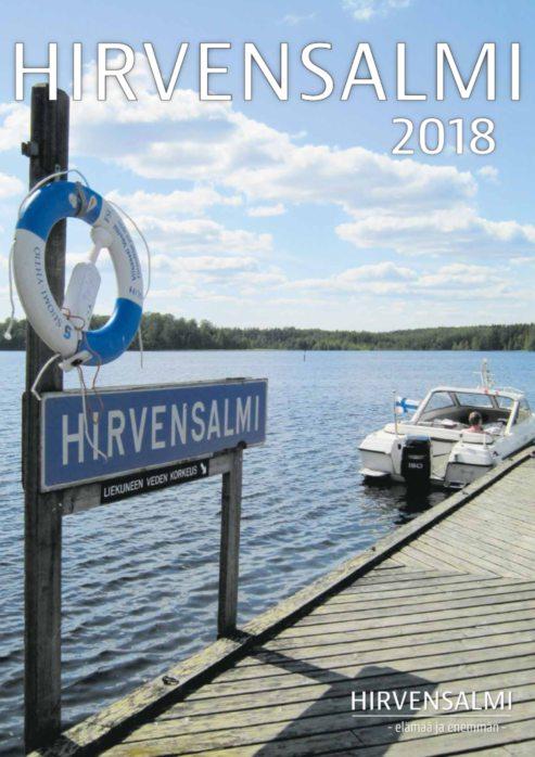 Hirvensalmi 2018 -matkailulehden kansi