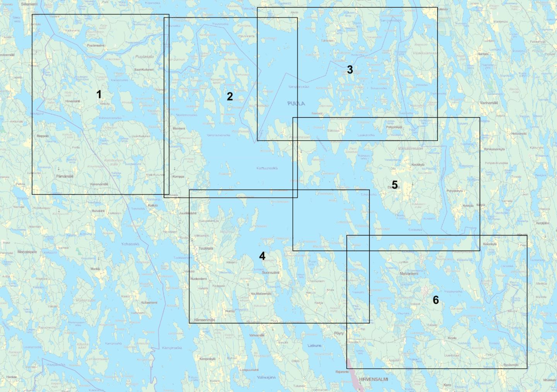 Puula kartta