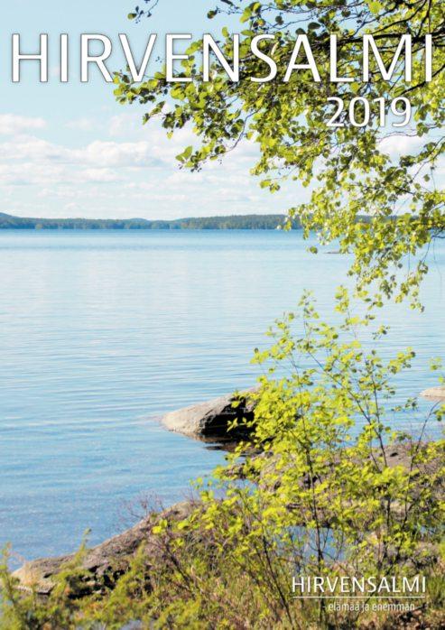 Hirvensalmi 2019 -matkailulehden kansi