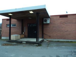 varastotilat lastauslaiturilla entinen Posti