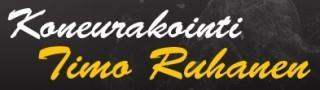 Koneurakointi Timo Ruhanen logo