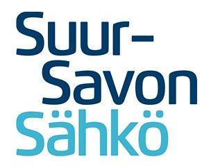 Kissakosken sähkönäyttely / Suur-Savon Sähkö logo